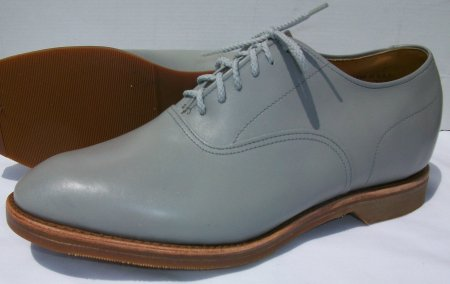 Grey Plain Toe-FD