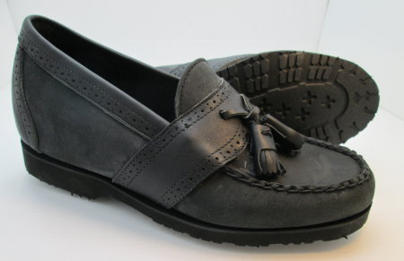 Black Casual Tassel Loafer