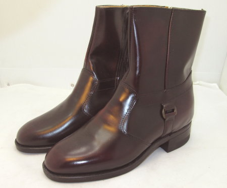 Burgundy Harness Boot