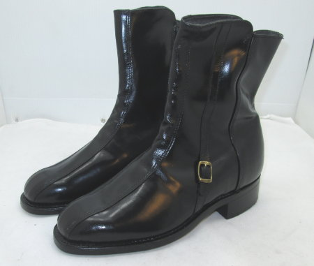 Black Kidskin Boot
