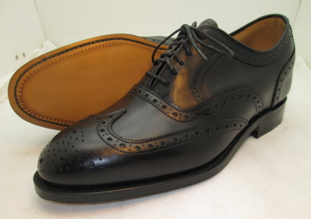 Black Yorkshire Wing Tips