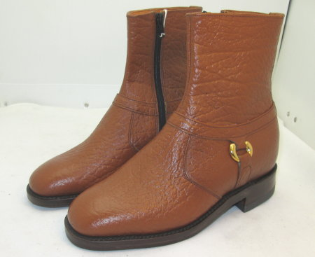 Brown Camel Skin Boot