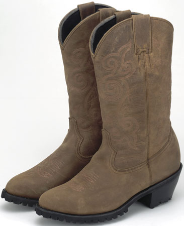 Brown 13'' Casual Western Boot