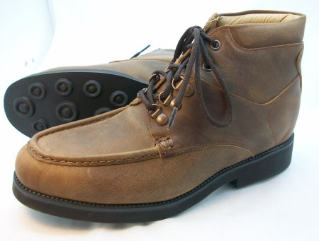 Moc-Toe Casual Boots-Brown