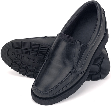 Black Comfort Slip-On