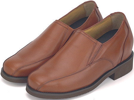 Tan 3'' Twin Track Slip-On