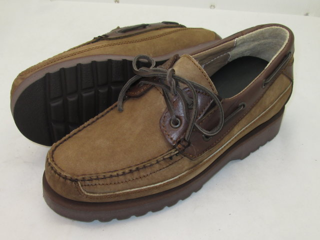 Brown Handsewn Boat Shoe