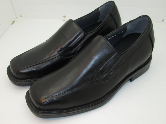 Black Double Gore Slip-On