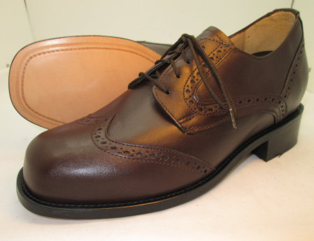 Brown 3''  Wing Tips