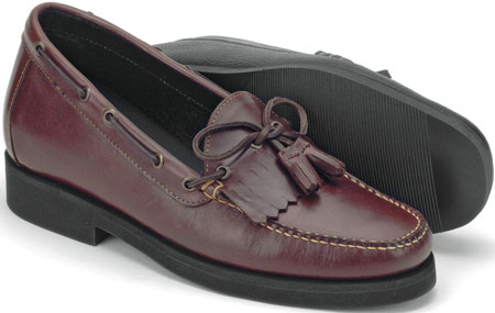 Brown Casual Kiltie Tassel Slip-On