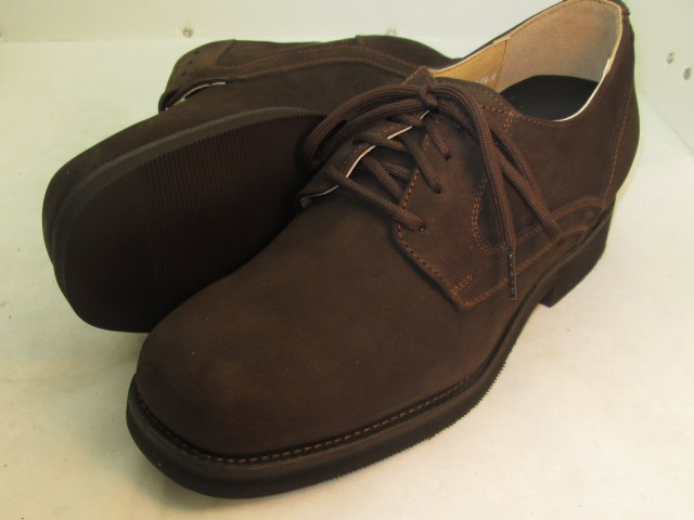 3'' Brown Nubuck Plain Toe-FD