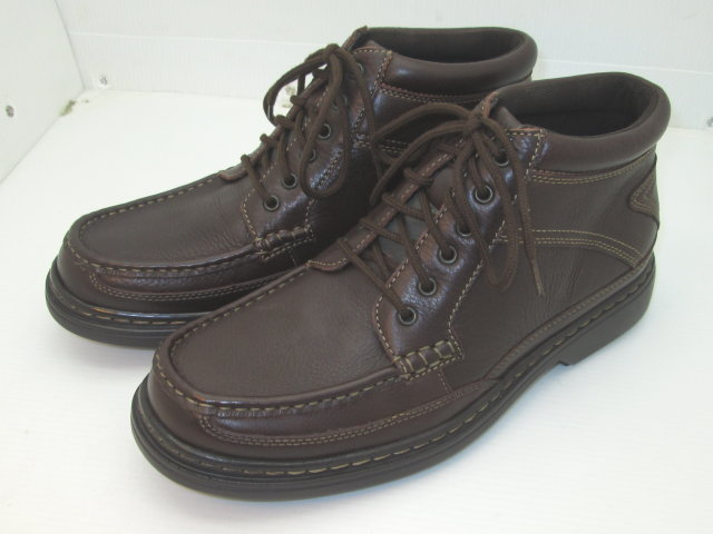 Brown Moc Toe Casual Boots