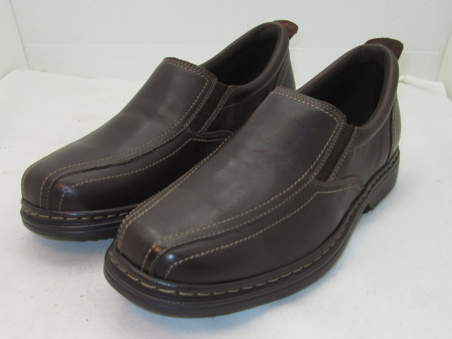Brown Twin Track Slip-On