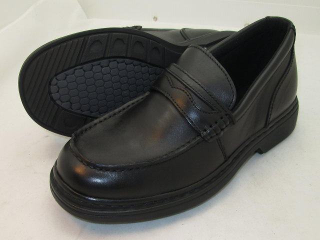 Black Casual Penny Loafers