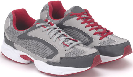 Grey/Red Airlite Sneakers