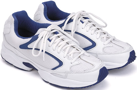 White/Blue Airlite Sneakers