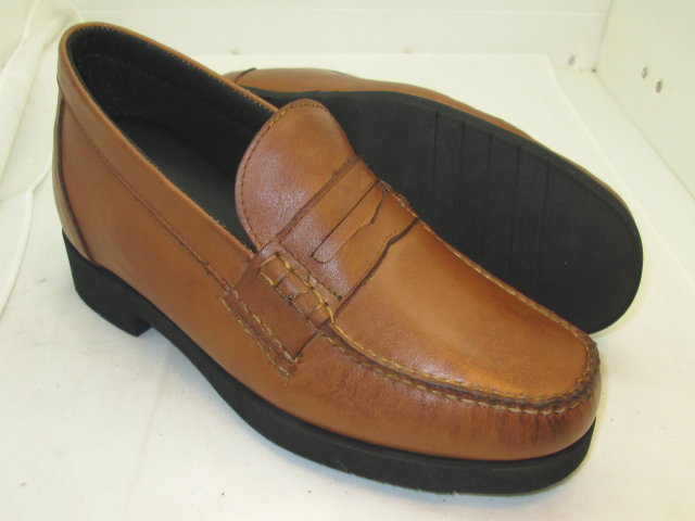 Tan Casual Penny Loafer