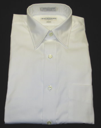 Wrinkle Free Dress Shirt-White