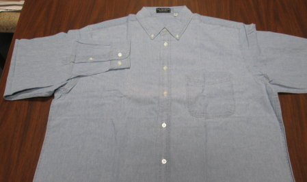 Long Sleeve Chambray Shirt-SAVE $40!!!